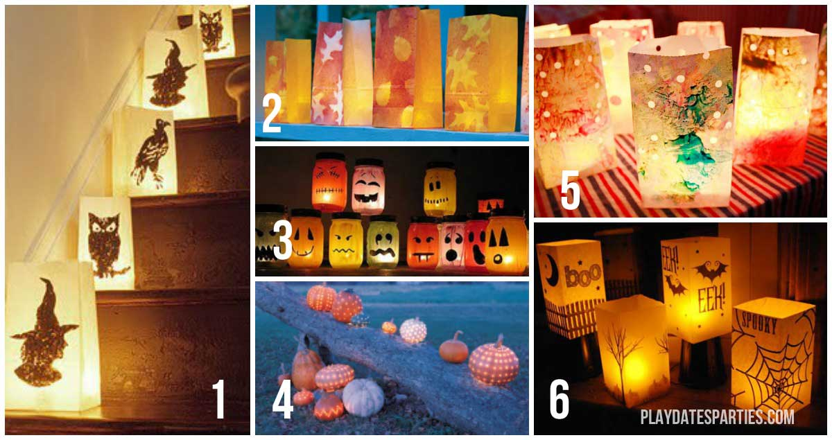 Light up your yard this year with one of these 6 spectacular luminaries for Halloween.
