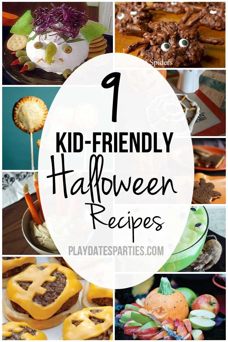 9 kid friendly halloween recipes for Easy kid friendly halloween treats