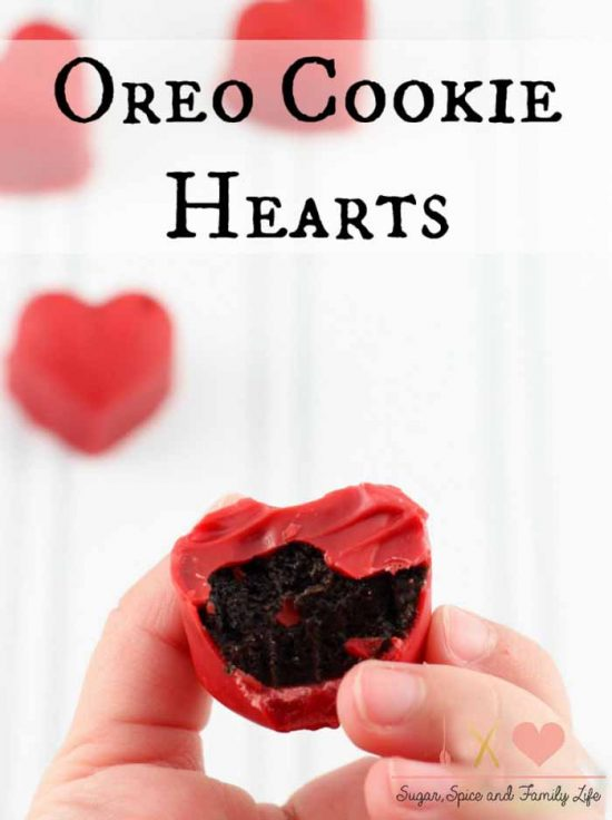 Valentine's Day Treats: Oreo cookie truffles