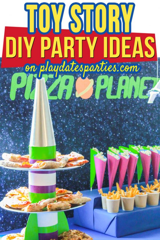 Take a Look at this Real Life DIY Toy Story Party