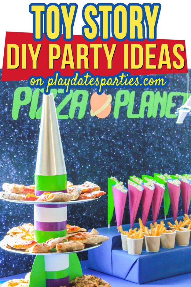 I had so much fun putting together this Toy Story party for my nephew's birthday. It's full of DIY ideas that are easy to make if you are on a budget. From the Pizza Planet background, to the flying Buzz Lightyear toys, and the Mr. Potato Head games, you just have to check out all the details.