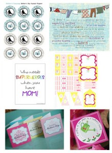 {Roundup} Free Mother's Day Printables