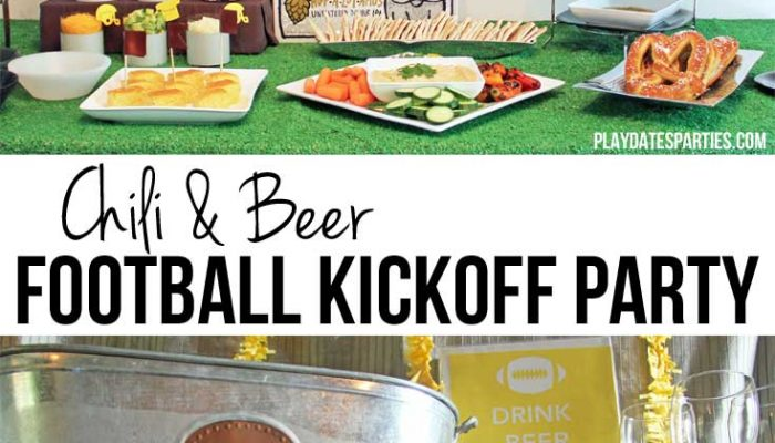 Chili and Beer Football Kickoff Party