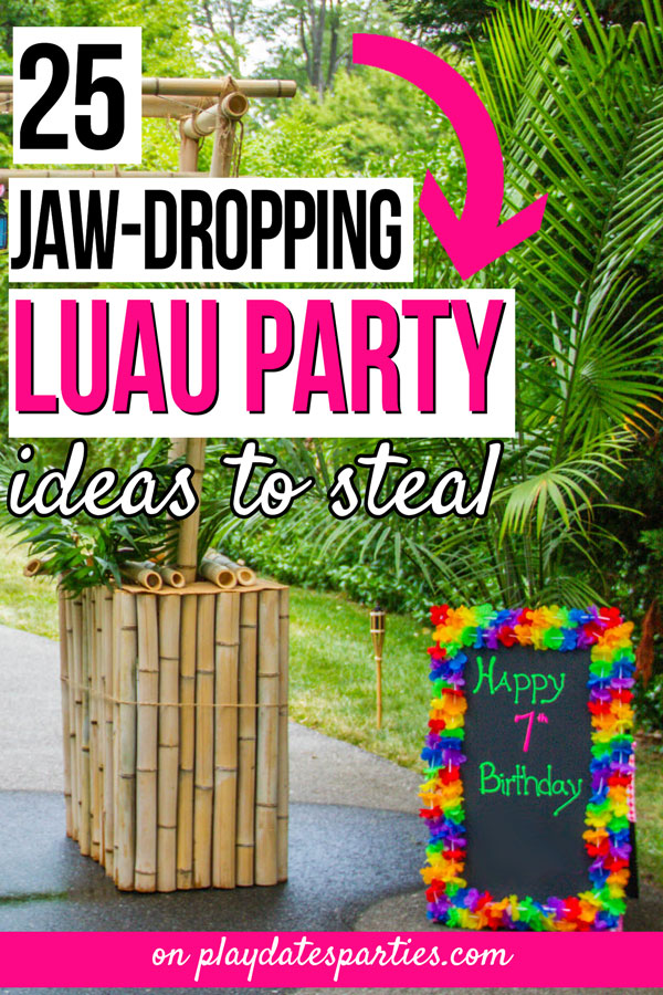 graphic about Printable Luau Party Games identified as 25 Luau Occasion Plans towards Steal in opposition to a Experienced Party Planner