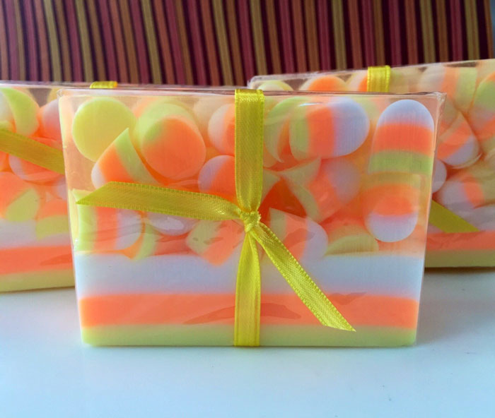 Candy Corn Soap