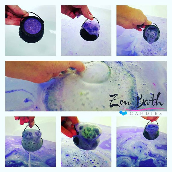 Cauldron Bath Bombs