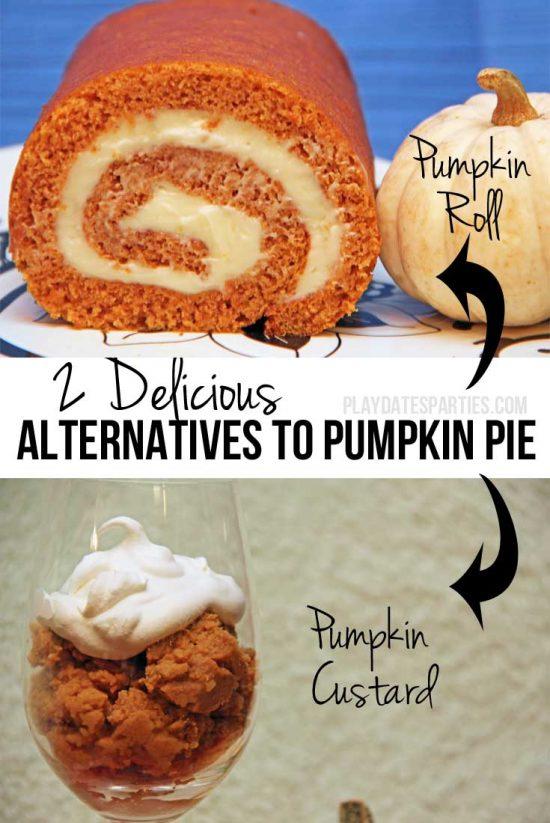 Two Delicious Alternatives to Pumpkin Pie