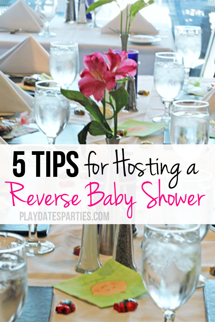Know a mom-to-be that's just too far away from family to visit for a shower? Host a reverse baby shower instead!