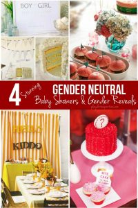 4 Stunning Gender Neutral Baby Showers and Gender Reveals