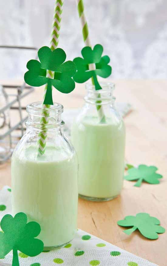 Shamrock Shake Recipe at All She Cooks