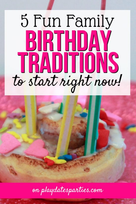 5 Birthday Traditions That Aren't a Party (Plus a Free Printable)