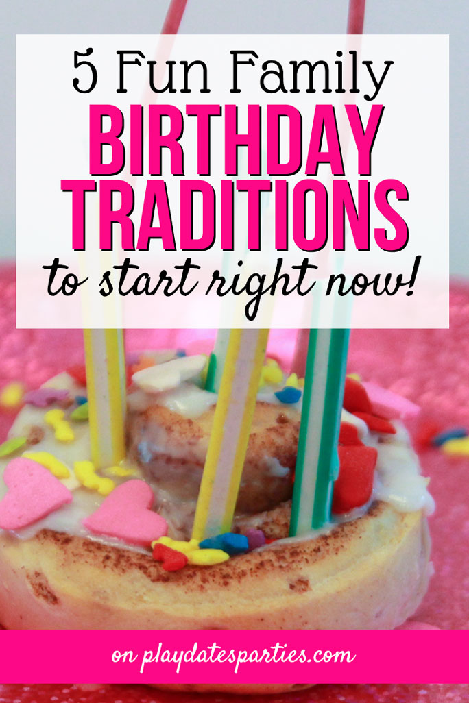 Make your children feel extra special with these 5 meaningful and fun birthday traditions. These cute ideas are great for kids of all ages, starting with your toddler. Choose your favorites and create an annual family tradition with interview questions, a balloon avalanche, or or even something as simple as adding sprinkles to favorite breakfast sweets. Don't forget to stop by to grab your free printable birthday interview to download and use every year. #kids #birthday