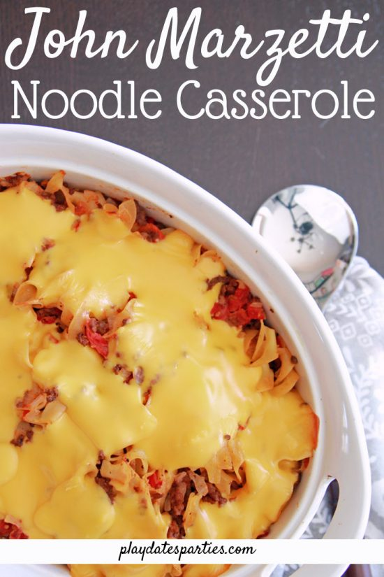 Johnny Marzetti Noodle Casserole Recipe | The Ultimate Comfort Food