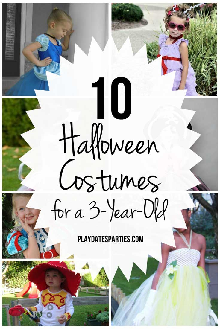 Hereu0027s a list of 10 perfect Halloween costumes for a 3-year-old girl  sc 1 st  From Play Dates to Parties & 10 Perfect Halloween Costumes for a 3-Year-Old