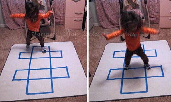 Indoor-Hopscotch