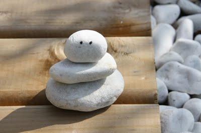 Rock Snowman
