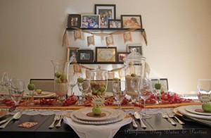 {Looking Back} Hosting Thanksgiving Dinner
