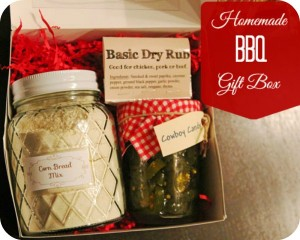{Gifting} Home Made BBQ Boxes