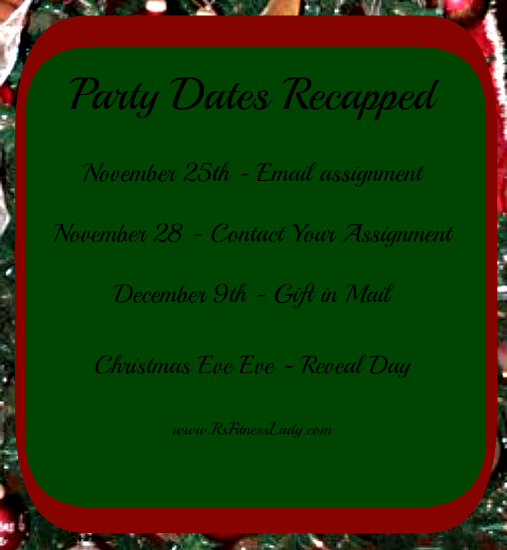 Holly Bloggy Christmas Party Dates Recapped - Rx Fitness Lady