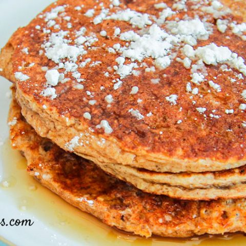 Real Food Healthy Protein Pancakes Recipe