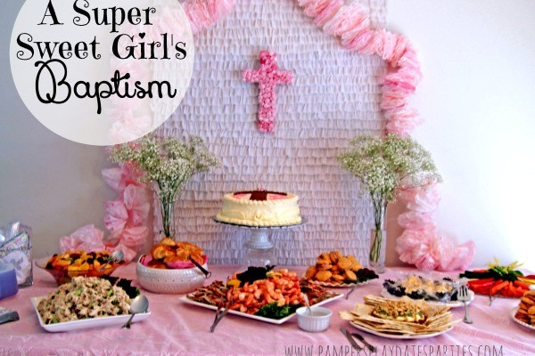 {Real Parties} Super Sweet Girly Baptism