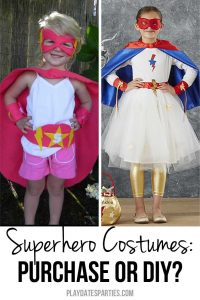 Should You Purchase or DIY Superhero Costumes for Girls?