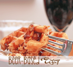 {Recipes} Beer-Based Syrup