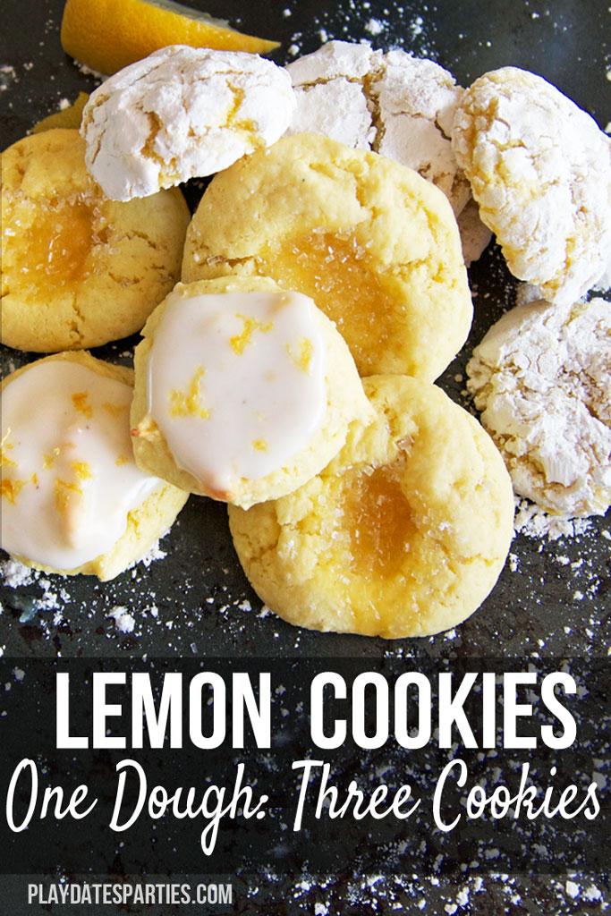{12 Days of Christmas Cookies} Easy Lemon Clove Cookies