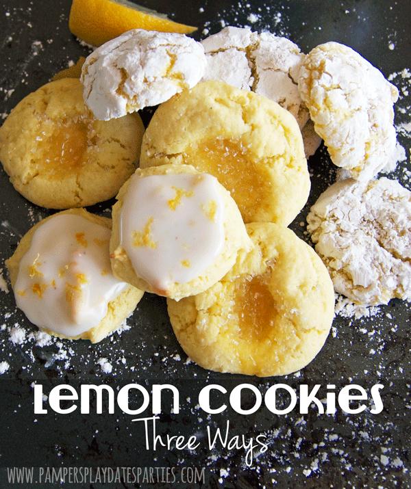Lemon Cake Mix Cookies | One Dough, Three Amazing Cookies