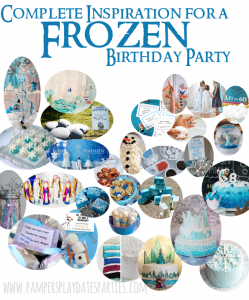 The Complete Inspiration Guide for Frozen Birthday Parties