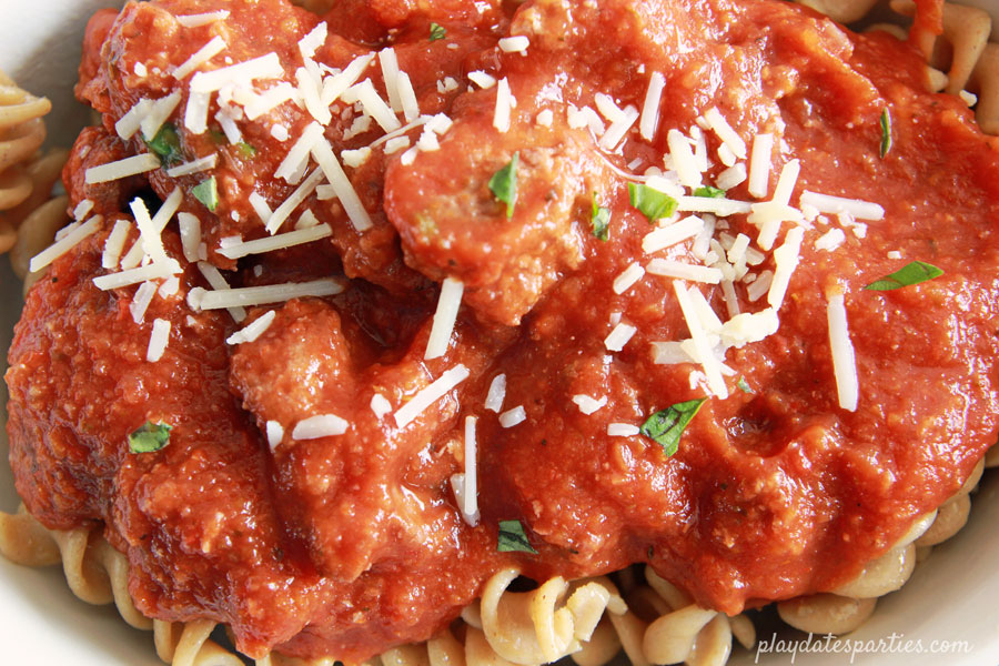 how to make healthy pasta sauce