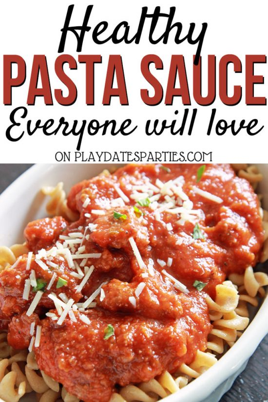 Healthy Pasta Sauce Everyone Will Love