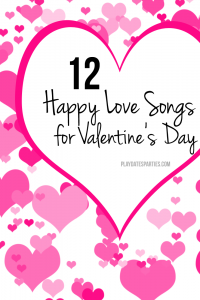 12 Happy Love Songs for your Valentine's Day