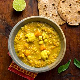 Eating Well - Vegetable Dal