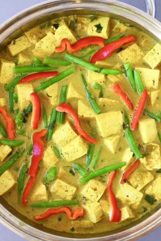 Peanut Tofu Satay Curry by Rhian's Recipes
