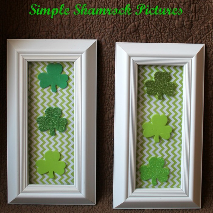 Simply Southern Mom - Framed Shamrocks