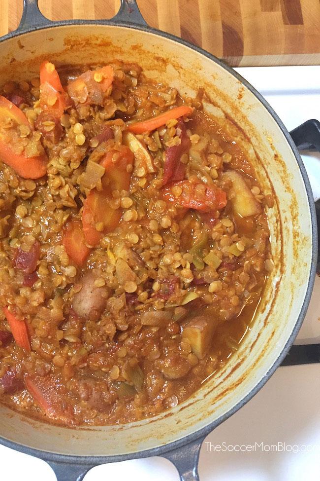 Greek Lentil Soup from The Soccer Mom Blog