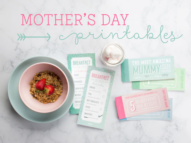 A Whole Lot of Tiny Free Mother's Day Printables