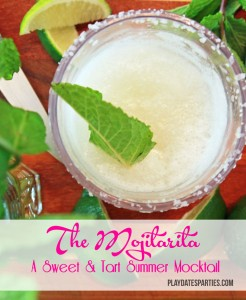 {Recipes} A Sweet and Tart Summer Cocktail