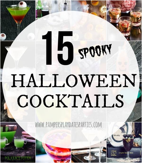 These spooky Halloween cocktails are a delicious and fun way to celebrate the holiday, whether you're hosting a party or not.