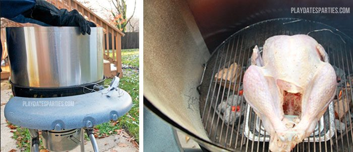 How to grill a turkey on a charcoal grill? Try this hack to make the bird fit!