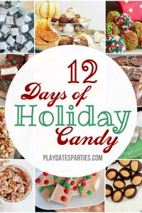 12 Days of Holiday Candy Recipes