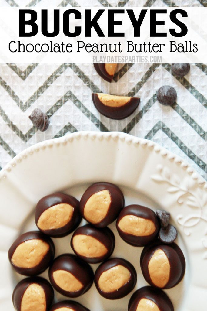 Find out how we learned to make the PERFECT Buckeyes recipe year after year. After all, there's nothing quite like the combination of chocolate and peanut butter, and Buckeyes have been a #holiday #candy tradition in my family since I was a little kid.