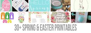 30-Spring-Easter-Printables