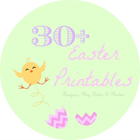 Roundup Free Spring Easter Printables