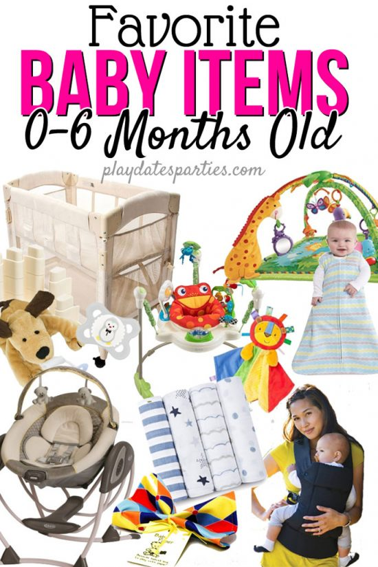 10 Favorite Baby Items for 0-6 Months