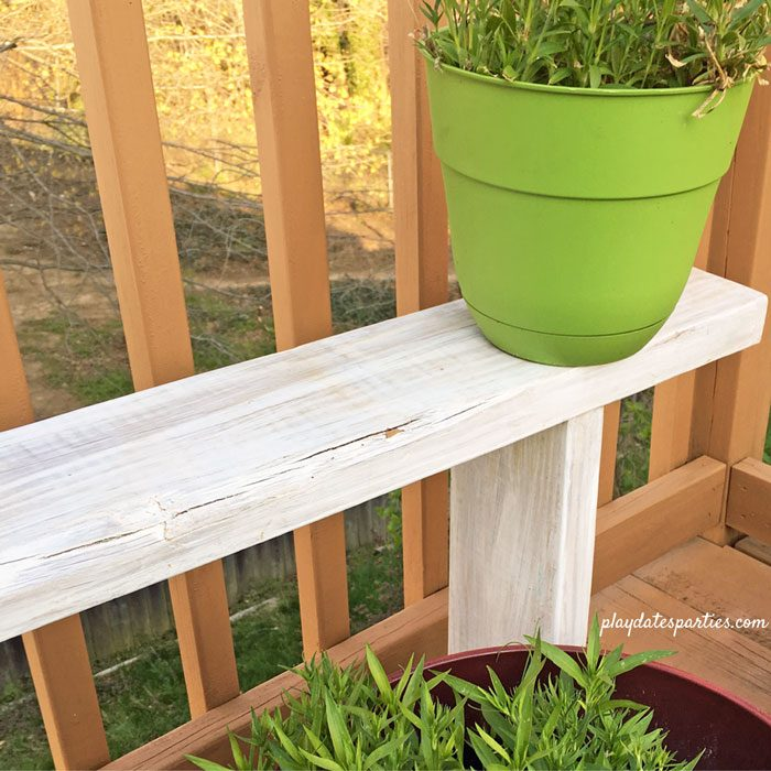 Pleasing Easy Diy Potted Plant Benches Orc Week 2 Caraccident5 Cool Chair Designs And Ideas Caraccident5Info