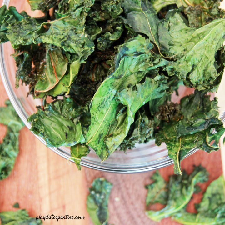 Crispy Kale Chips Recipe