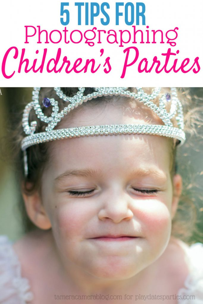 Want to capture the magic of your children's parties? Head to playdatesparties.com to get 5 tips from a professional photographer for capturing the magic when photographing children's parties.