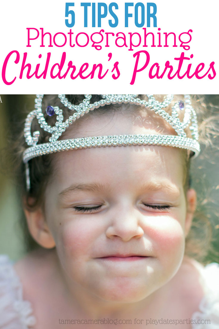 5 Tips for Photographing Children's Parties